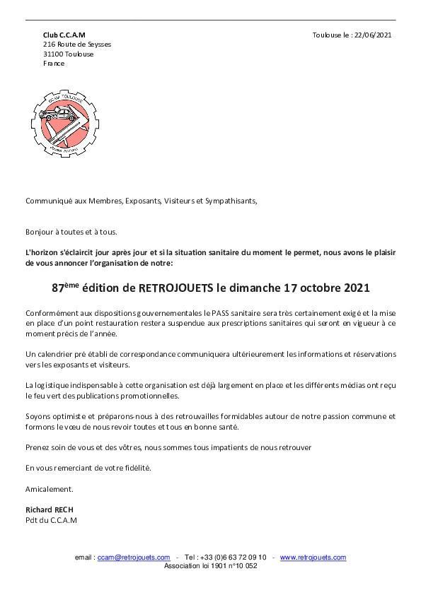 Rt087 20210622 communication presidence